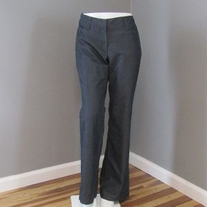 LOFT Charcoal Gray Trousers Pants Size 6